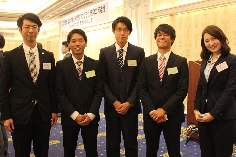名古屋観光ホテルで、現代マネジメント実習の成果を発表しました。
