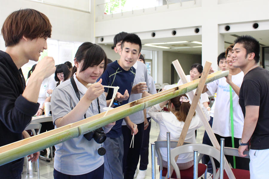 台湾の学生と交流しました