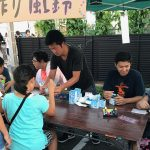 永覚新町商店街の夏祭り
