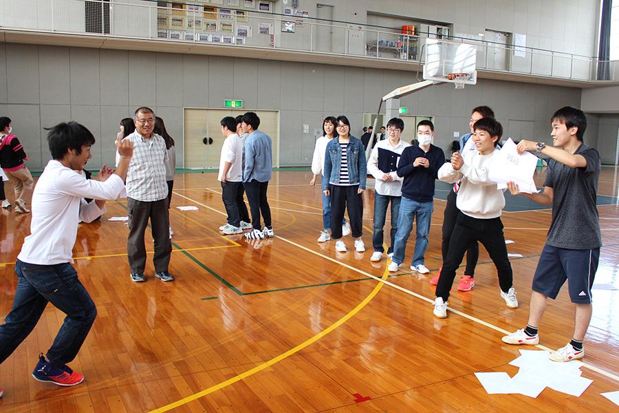 豊田キャンパスで毎年恒例の新入生歓迎会