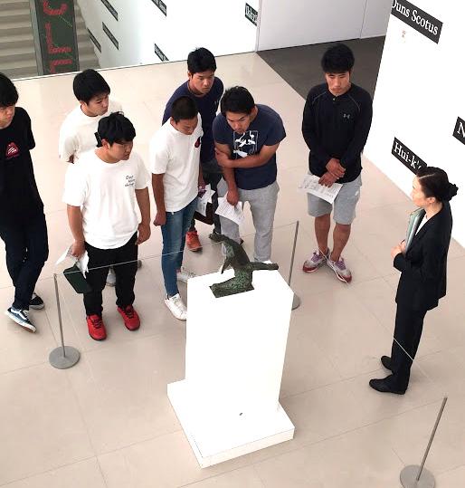 豊田市美術館に初めて行きました