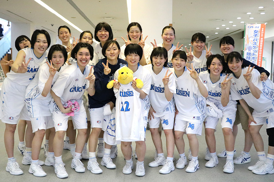 女子バスケットボール部 10年連続41回目「優勝」!