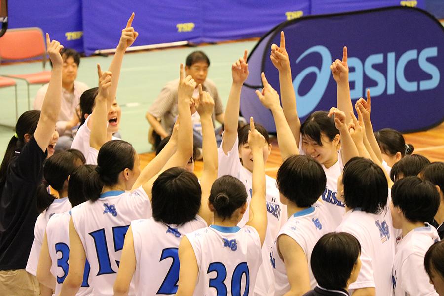女子バスケットボール部 西日本大会優勝!