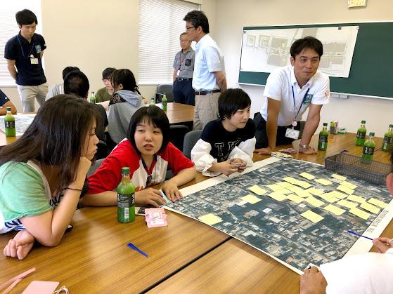 豊田市中央公園等のヒアリングで学生の声を届けました