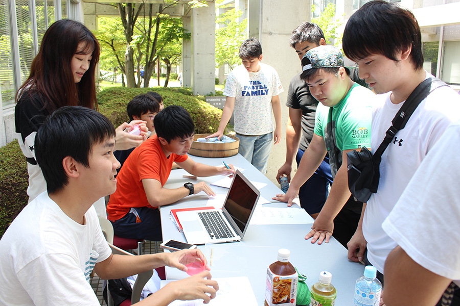 豊田キャンパスで恒例の宝探しイベント開催。