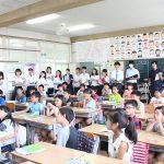 「算数科教育法」の授業で矢作北小学校へ行きました。(こどもの生活専攻)