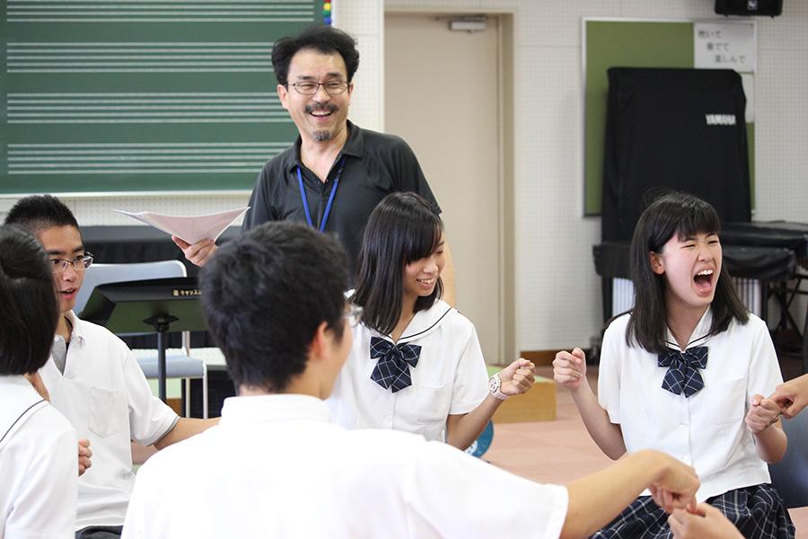 岡崎城西高校のみなさんに授業を体験していただきました