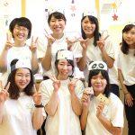 岡崎げんき館の夏まつりに参加(こどもの生活専攻)