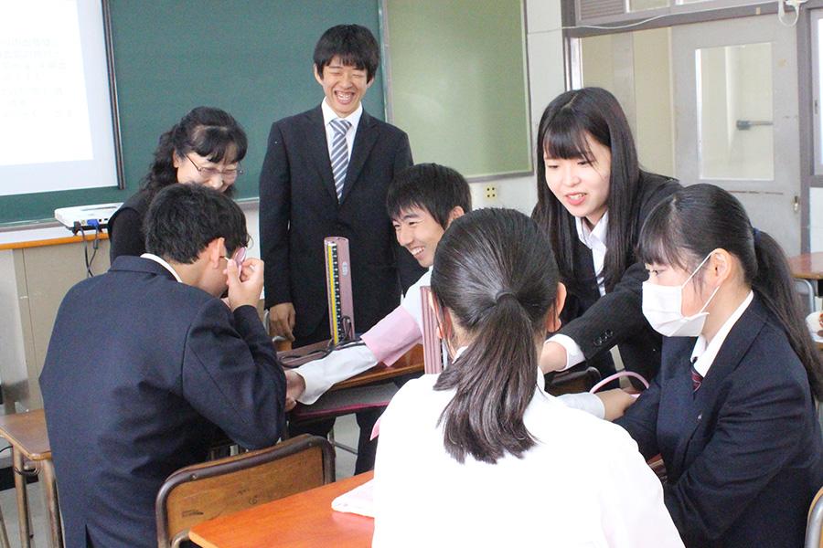松平高校にて「なるには講座」を実施