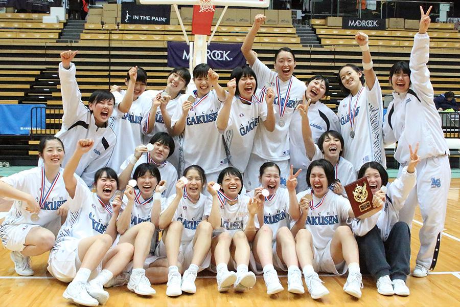 女子バスケットボール部、インカレ準優勝!