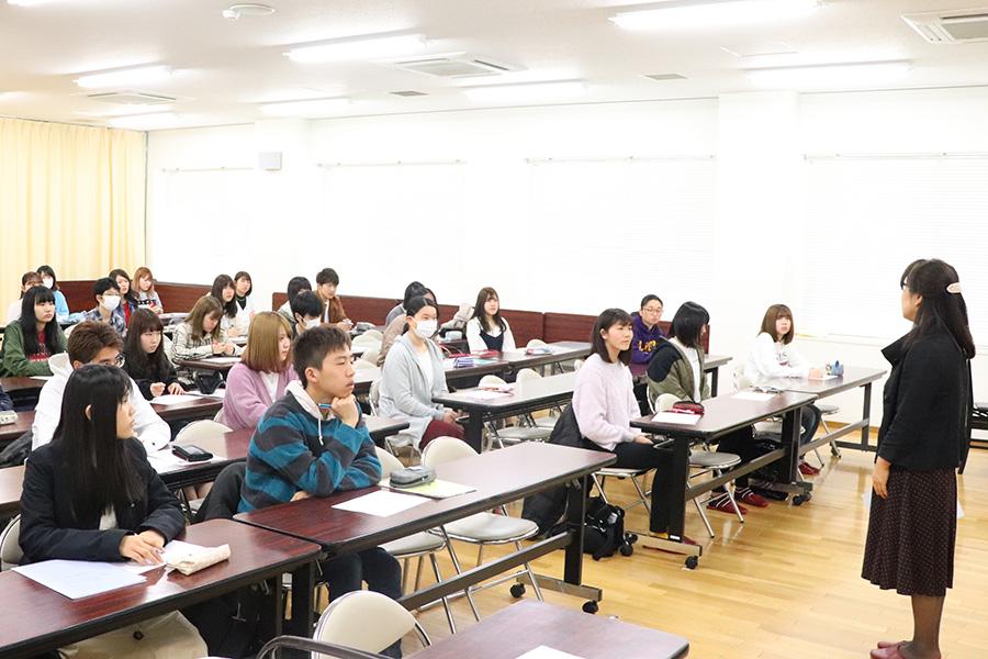 入学前オリエンテーション(こどもの生活専攻)