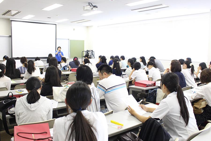 オープンキャンパス。家政学部のミニ授業について。