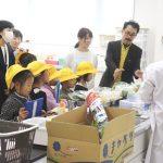 矢作北小学校2年生「町探検」(こどもの生活専攻)
