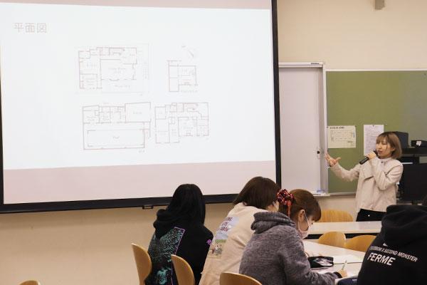 インテリアデザインⅠ(ライフスタイル学科)
