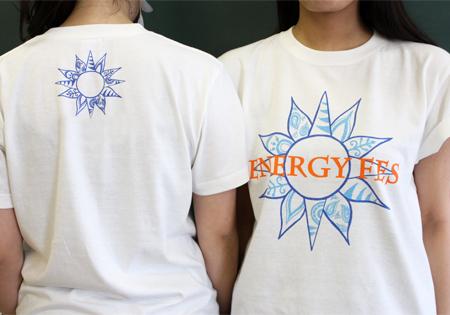 学生がデザイン!ENERGY FESオリジナルTシャツ第1弾が完成!