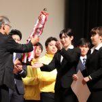 「学びの泉グランプリ」にて活動内容を発表。