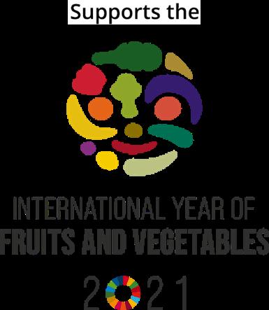 農林水産省「国際果実野菜年2021」オフィシャルサポーターに認定!