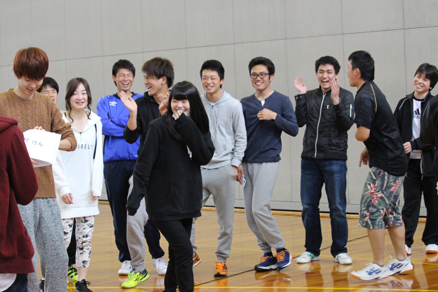 豊田キャンパスで新入生歓迎会
