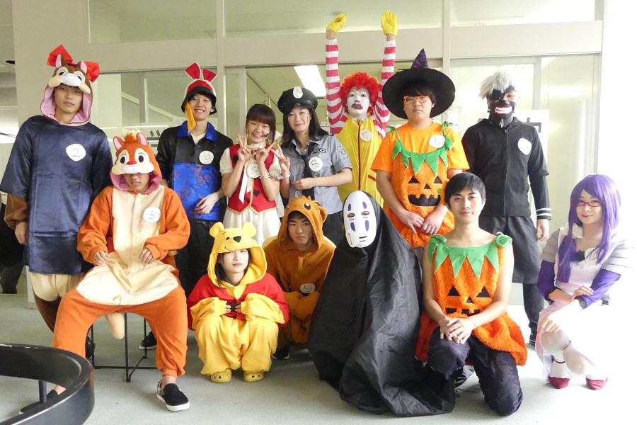 一足早く、豊田キャンパスでハロウィン!