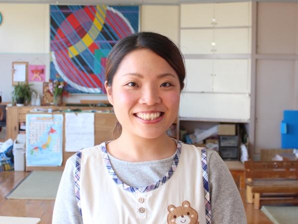 浜松市のこども園で活躍する卒業生