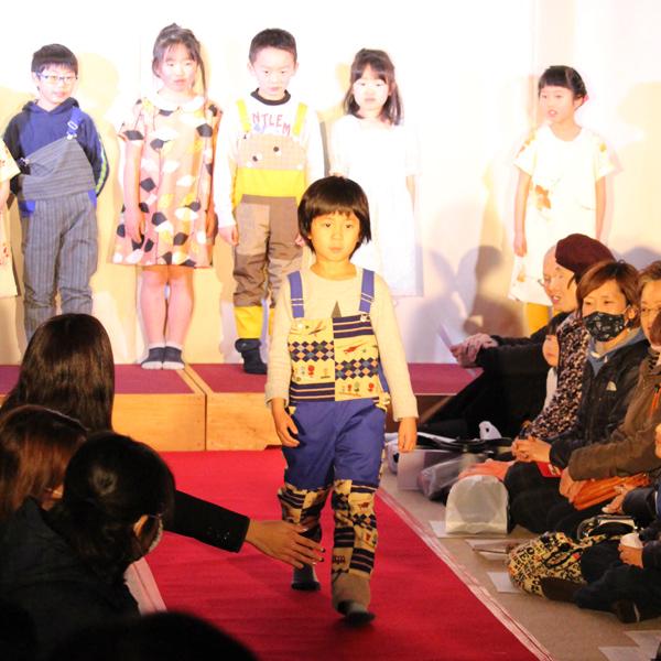 和服リメイクファッションショー、大成功!