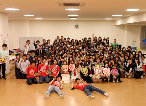 学生会主催「新入生歓迎会&サークルPR会」