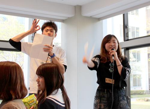 学泉祭実行委員会主催「新入生歓迎会」