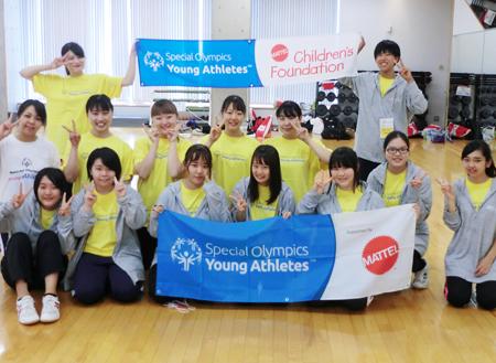スペシャルオリンピックスに学生がボランティアとして参加!